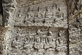 Ancient Buddhist Grottoes at Longmen- Old Dragon Grotto, 10 Figures Meditating, Tang Dynasty.jpg