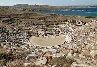 Delos - The theatre