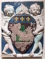 Andrea della robbia, stemma di montevarchi con putto alato, 1495-1500 ca. 02.JPG