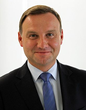 Polish presidential election, 2015 - Image: Andrzej Duda (9851867824) (cropped)