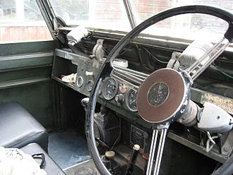 Land Rover - Series IIA dashboard