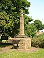 Anglo Saxon Cross, St Helen's Church - geograph.org.uk - 411929.jpg