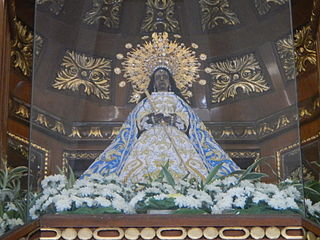 wooden image of the Virgin Mary venerated in the Philippines