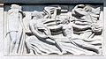 Antoine Bourdelle, 1910-12, Apollon et sa méditation entourée des neuf muses, bas-relief, Théâtre des Champs-Élysées, Paris DSC09316.jpg