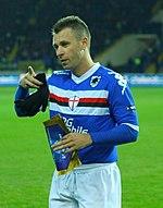 Antonio Cassano, alla Samp dal 2007 al 2011 e di nuovo dal 2015.