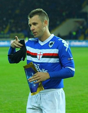 Antonio Cassano - Cassano as Sampdoria captain