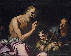 Antonio Zanchi - Image: Antonio Zanchi Jacob recibe la bendición de Isaac