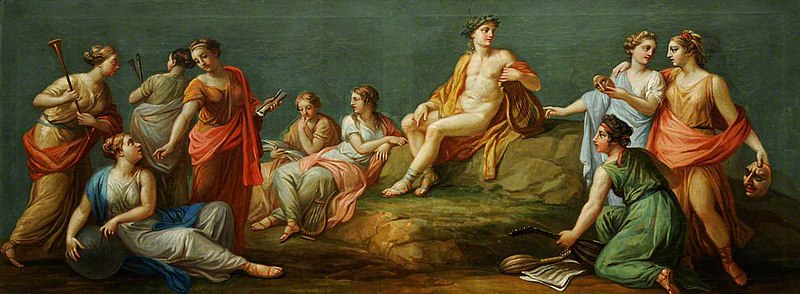 File:Antonio Zucchi - Apollo and the Muses, 1767.jpg