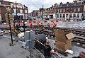 Anzin & Valenciennes - Travaux de raccordement des lignes A & B du tramway de Valenciennes à la Croix d'Anzin le 19 août 2013 (18).JPG