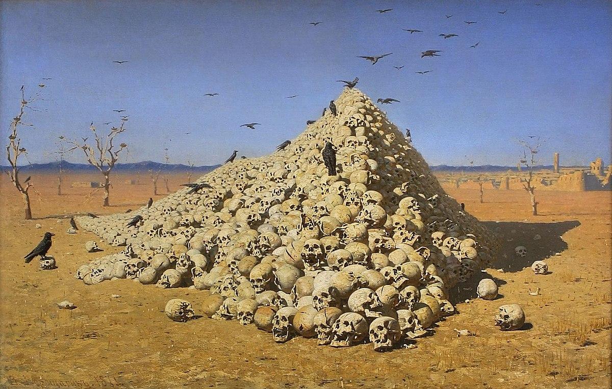 Василий Верещагин. Апофеоз войны. 1871