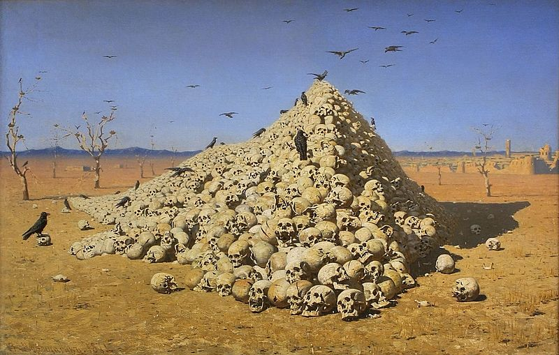 The Apotheosis of War (1871) by Vasily Vereshchagin - Wikipedia