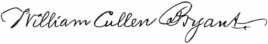 Appletons%27 Bryant William Cullen signature
