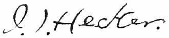 Isaac Hecker - Image: Appletons' Hecker Isaac Thomas signature
