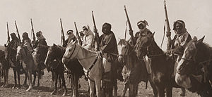 Royal Jordanian Army - Arab Revolt Tribal Cavalry – Tribes of Jordan and Arabia, c. 1918.