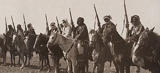 Royal Jordanian Army - Arab Revolt Tribal Cavalry – Tribes of Jordan and Arabia, c. 1918.