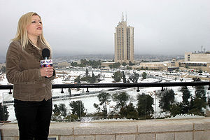Al Arabiya - Al Arabiya reporter in Jerusalem