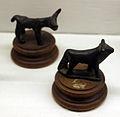 Archeologico, bronzetti etruschi, animali 05 bovini.JPG