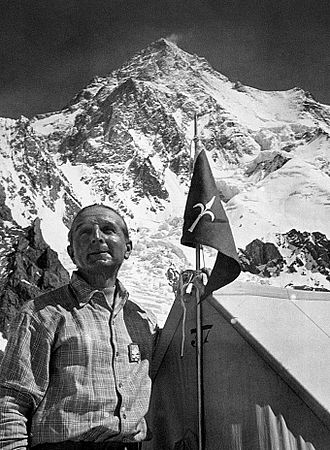 Ardito Desio - Ardito Desio at K2 in 1954