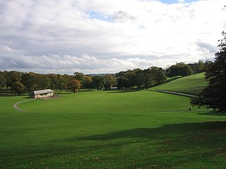 Roundhay Park -  The Arena with Hill 60 on the Right
