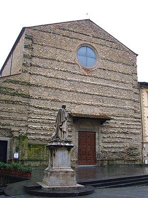 San Francesco, Arezzo - Image: Arezzo Basilica di San Francesco
