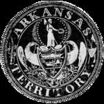 Sigillo territoriale dell'Arkansas 1835 drawing.png