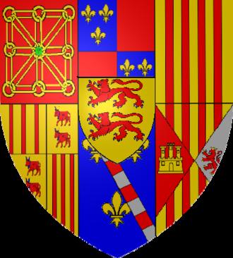 Viscounts of Béarn - Image: Armoiries Navarre Albret