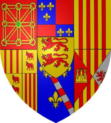 Armoiries Navarre-Albret