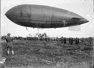 British Army airship Beta - Beta I at Farnborough
