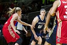 220px Arne Duncan defended by Elena Delle Donne 2014 NBA ASG - Nba Celebrity Game 2018