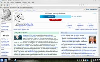 Arora (web browser) - Image: Arora Webbrowser