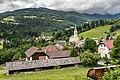 Arriach OSO-Ansicht mit evangelischer Vier-Evangelisten-Kirche 05062017 9057.jpg