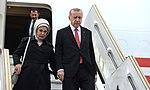 Arrival of Recep Tayyip Erdogan, President of Turkey (45191468125).jpg