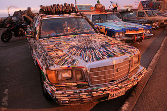 Art car - Art car festival in San Francisco