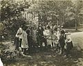 "Arthur ""Gramp"" Roos (center) with the gardening class at Edenwald (7736438504).jpg"
