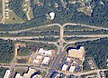 Arundel Mills Boulevard interchange aerial view, September 2018.JPG