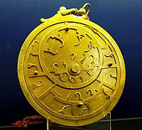 An eighteenth-century Persian astrolabe. Throughout the Middle Ages, the natural philosophy and mathematics of the ancient Greeks and Persians were furthered and preserved within Persia. During this period, Persia became a centre for the manufacture of scientific instruments, retaining its reputation for quality well into the nineteenth century.