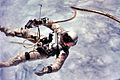 Astronaut Edward White first American spacewalk Gemini 4.jpg