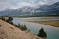 Athabasca River in Jasper National Park.jpg