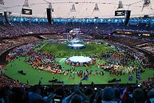 Athletes taking seats for the Paralympic Closing Ceremony.jpg