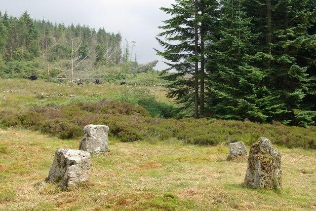 Aucheleffan Standing Stones - geograph.org.uk - 904665
