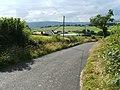 Auchincarroch Road, near Mid Auchencarroch Farm - geograph.org.uk - 1770207.jpg