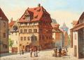 August Fischer - Albrecht Dürer Haus, Nürnberg.png