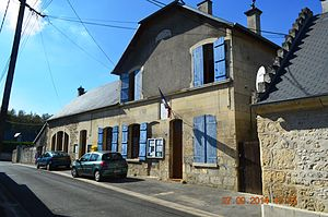 Augy, Aisne - The Town Hall