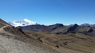 Ausangate - Ausangate as seen from Vinicunca
