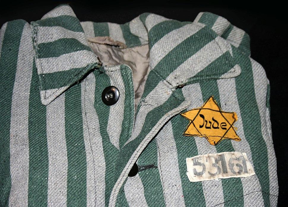 Auschwitz outerwear distinguish yellow Star of David