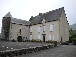 Aussurucq - The Town Hall in the chateau