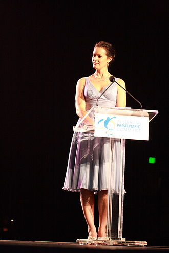 Stephanie Brantz - Brantz hosting the 2012 Australian Paralympian of the Year ceremony with live coverage on the ABC
