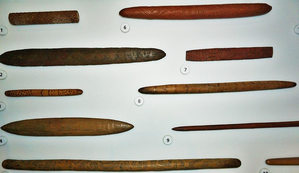 Australian Museum - Joy of Museums - Aboriginal Message Stick