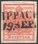Austria 1850 3Kr Ia WIPPACH.jpg