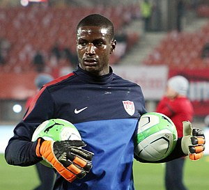 Bill Hamid - Image: Austria vs. USA 2013 11 19 (145)